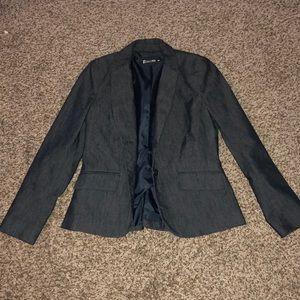 New York & Company Blue Suit Blazer - Size 6 NEW